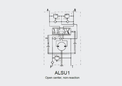 Power steering unit ALSU 1
