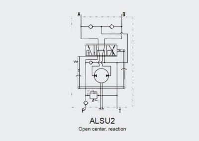 Power steering unit ALSU2