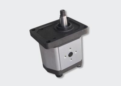 Aluminium hydraulic pump