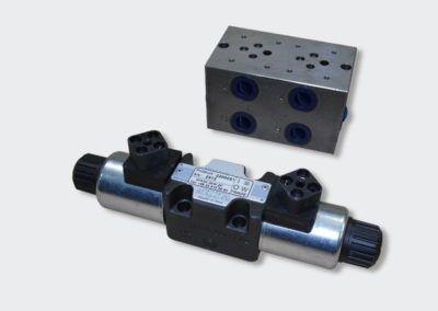 Modułowe zawory hydrauliczne