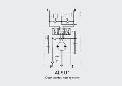 Hydrostatyczny zawór skrętu ALSU 1