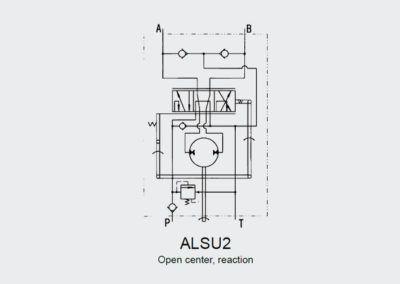 Hydrostatyczny zawór skrętu ALSU 2