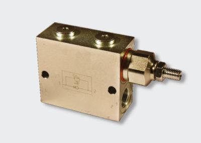 Linear hydraulic valves
