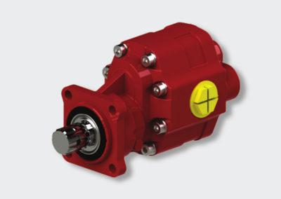 Cast-iron hydraulic pump PTO
